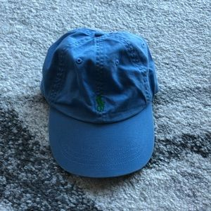 Polo By Ralph Lauren Light Blue Baseball Cap